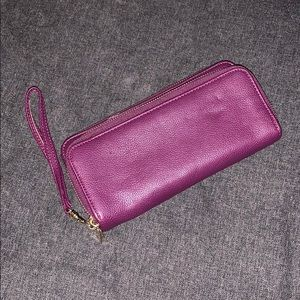 💰 3/$25 | Merona | Purple Wristlet | Womens